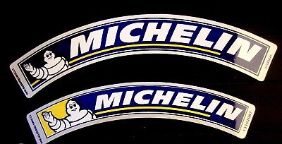 lot de 2 autocollants MICHELIN bibendum de grandes tailles