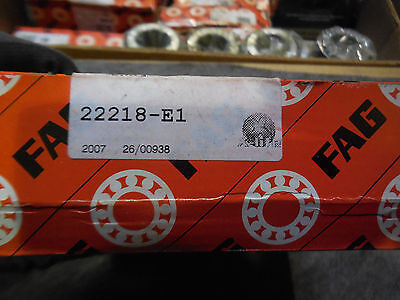 Fag 22218-E1 Spherical Roller Bearing