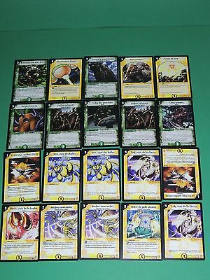 Lot 20 cartes DUEL MASTERS 2004 DM-01 Neuf VF - ref/V1