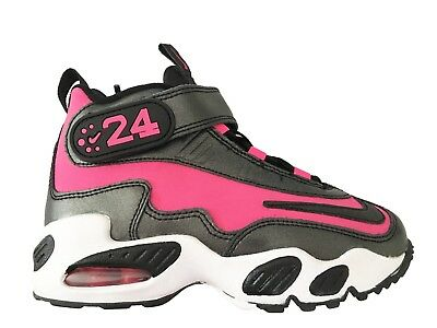 Kids Nike Air Griffey Max I (Ps) Girls Pink Spark-Black Sz 13C (437355 601)