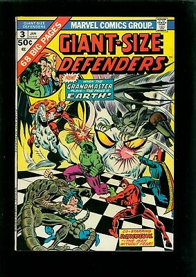 Giant-Size Defenders 3 VF- 7.5