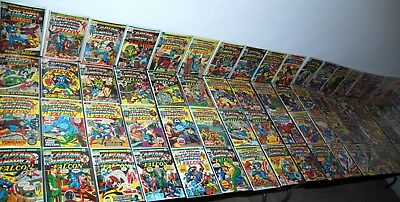 1972-81 Marvel Captain America #149-386 Lot Of 105 Mid- High Grade Run L4