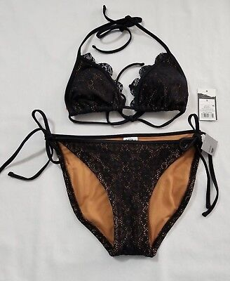 1da0e4479b1 New Women's 2pc Mossimo Swimwear Bikini Swim Top & Bottoms Swimsuit Size  Small