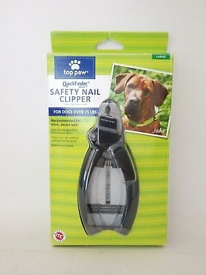 TOP PAW QuickFinder Deluxe Large or Hard Nail Breeds Nail Clipper 5556
