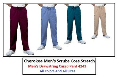 Cherokee Mens Scrubs Core Stretch Pants 4243 All Colors And All Sizes NWT