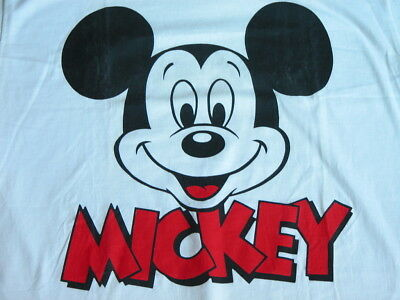 NOS Vtg 80s 90s Classic MICKEY MOUSE DISNEY T-Shirt L DEADSTOCK