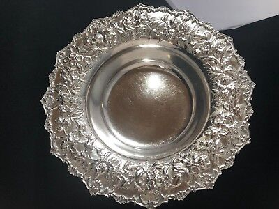 S. Kirk & Son Sterling Stunning Silver Repousse Vintage Bowl / Centerpiece