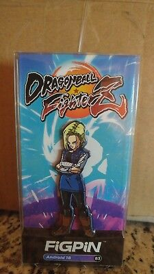 Dragonball Fighterz Figpin Android #18 Target Exclusive NEW