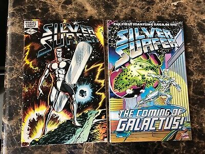 Silver Surfer lot set of 2 comics