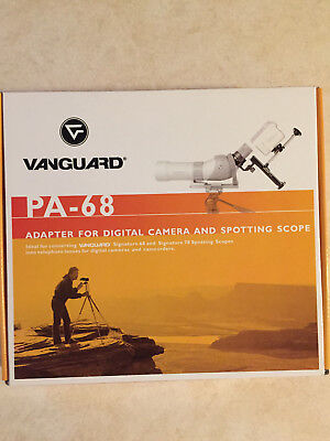 Vanguard PA-68 Spotting Scope Mount Adapter for Digital Camera Attachment.
