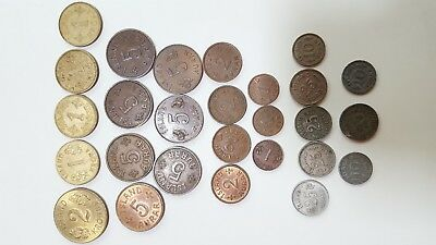 Iceland Kingdom and Republic Coin Lot 1940 - 1960