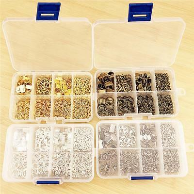 115Pcs DIY Jewelry Making Lobster Clasp Hooks For Necklace Bracelet Chain Ring