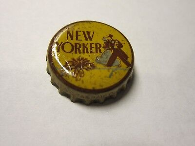 New Yorker  Bottle Cap Cork Lined