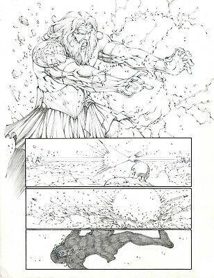 Godstorm (Age of Darkness) pages 1 and 2 by Noah Salonga