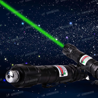 Pointer Laser Lazer Pen Beam Light Adjustable Focus 532nm <1mw Green For survey