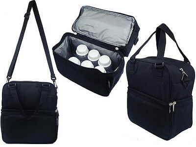 Posh Cooler Bag (Black)