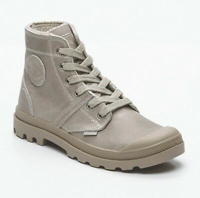 ff07377ddaa7 PALLADIUM Homme Sneakers Chaussures Montantes Cuir Gris 40 (FR) 40 (EURO)  FRANCE
