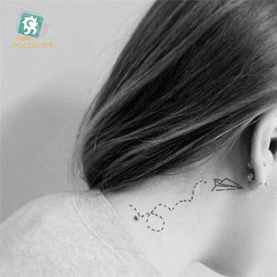 10-Style Temporary Tattoo Sticker Body Cover Up Decor Sticker BS