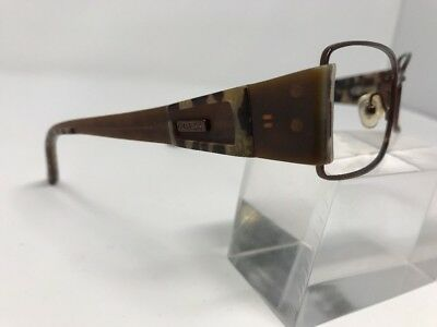 f500b74a25b Guess Eyeglasses GU6327 Brown Metal Frame SIZE  54-17-130mm Full Rim N502