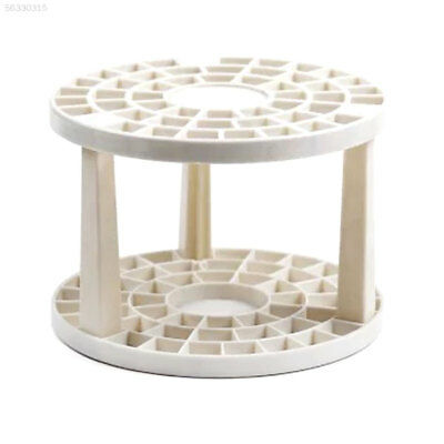 0A7F Paint Brush Pen Holder Desk Stand 49 Holes DIY Art Organizer Container