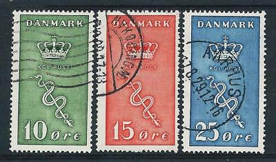 Denmark 1929 Cancer Research Fund set Used Good CV-light crease on back of 25ore