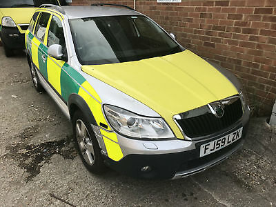59 Skoda Octavia 2.0TDI PD Scout ex nhs ambulance RRV new engine 55k ago NOISEY
