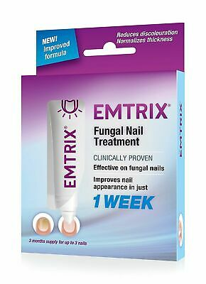M# Emtrix Fungal Nail Treatment 10ml,improved appearance in only 1 weeks