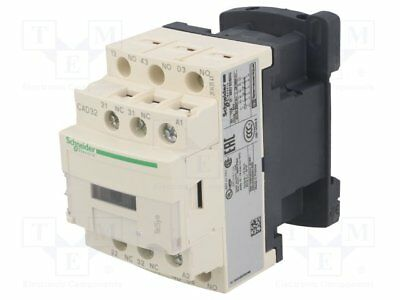 Contactor:5-pole; 230VAC; 10A; NC x2 + NO x3; DIN, on panel; CAD [1 pcs]