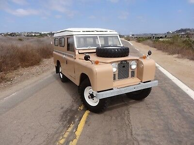 1962 Land Rover Defender Series IIa 109 1962 Land Rover Series IIA 109, Collectors Condition, Video Included