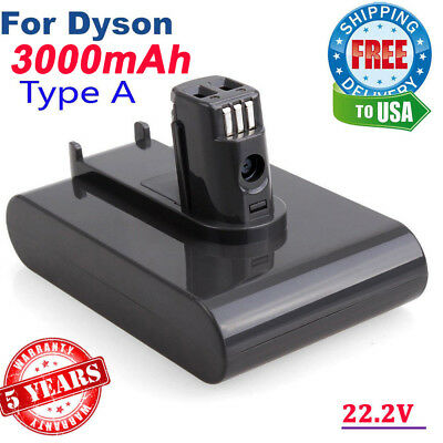 22.2V Vacuum Cleaner for Dyson DC31 DC34 DC44 Type A 17083 917083 3.0Ah Battery