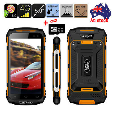 """Unlocked Land Rover X2 Android Smartphone 5"""" MTK 6737 Quad Core Mobile Phone+32G"""