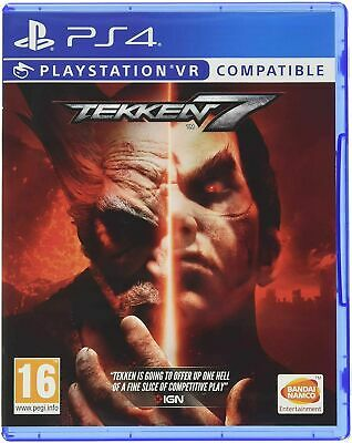 Tekken 7 PS4 NEW SEALED DISPATCHING TODAY ALL ORDERS PLACED BY 2 P.M.