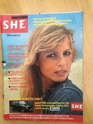 Vintage She Magazine Fashion Style June 1979