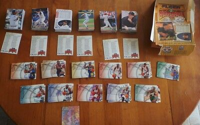 SUPERBE LOT DE 368 CARTES BASEBALL  MLB 1996 Fleer