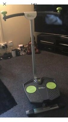 Twist and shape exercise machine No Extras Delivery Good Working Order