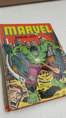 Marvel UK Annual 1975 starring HULK