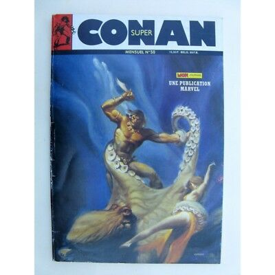 SUPER CONAN N°50 L'Idole vivante (fin) Mon Journal 1989