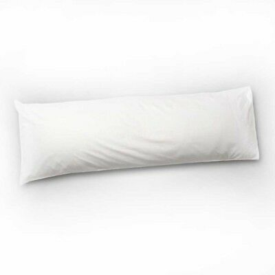Bolster Pillow Long Body Support Cushion Duck Feather & Down Maternity Pregnancy