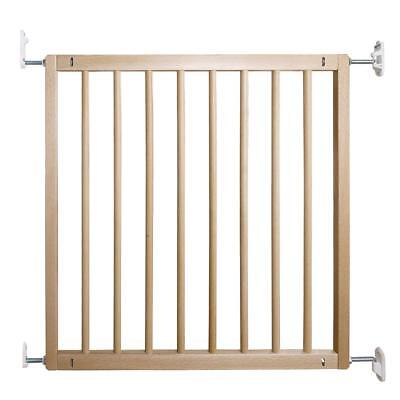 BabyDan No Trip Beechwood Safety Gate 72 - 78.5cm  wall fitted