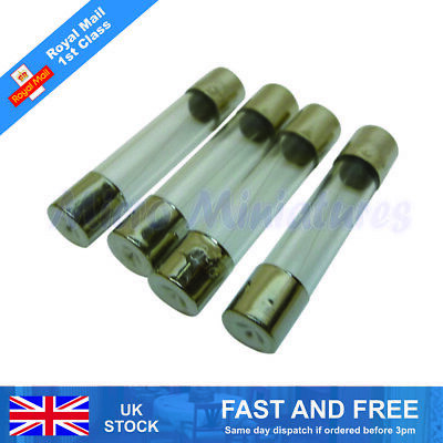 Dolls House Replacement Fuses For a 12 Way Power Strip 1/12 Scale (01364)