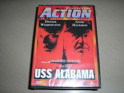 "DVD neuf sous blister,""USS ALABAMA"",denzel washington,gene hackman"