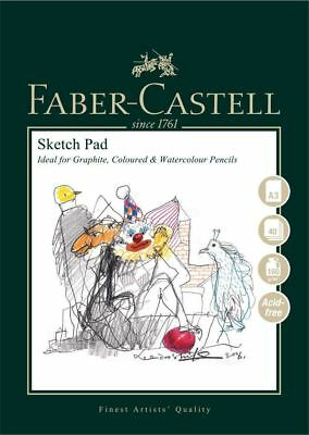 Faber Castell Pads A3 Sketch Pad 160gsm 40 Sheets