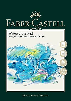 Faber Castell Pads A5 Watercolour Pad 300gsm 10 Sheets - Spiral Bound