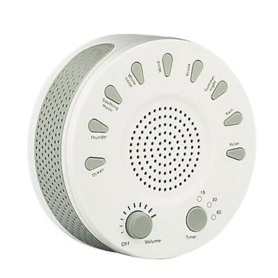 Sleep White Noise Machine Sound Therapy Baby Adult Sleeping Relaxation 9 Sound
