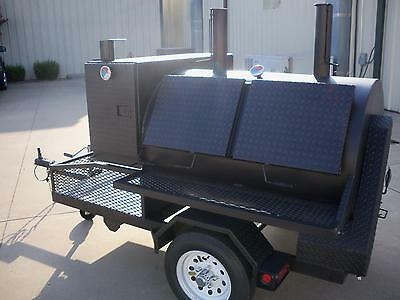 3660 Rotisserie BBQ Grill, Smoker, Cooker on Trailer by HEARTLAND COOKERS