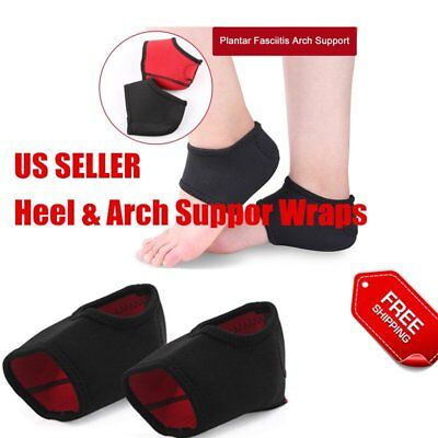 Plantar Fasciitis Heel Arch Support Foot Pain Relief Sleeve Cushion Wrap New S7