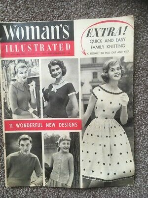 Vintage Woman's Illustrated Magazine - August 1957
