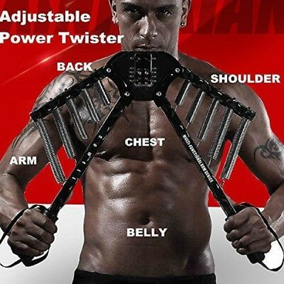 Chest Expander Hand Grip Springs Muscle Pulling Exerciser Fitness Multi Function