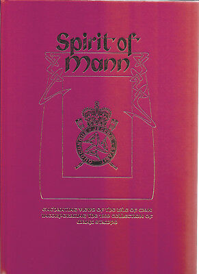 Isle of Mann 1999 Spirit of Man Year Book Enchanting Views & Stamps for year