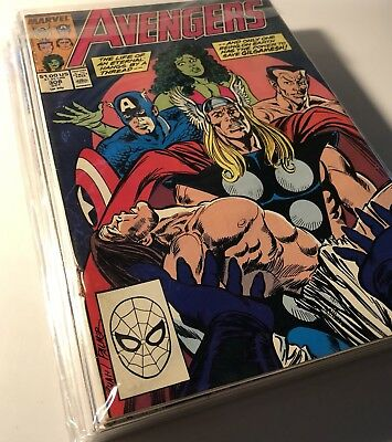 Marvel - The Avengers 18 Issue Copper Age Comic Lot - (308-354)